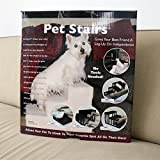Kinlo® Hundetreppe 45x35x30cm Pet Stairs Hunderampe Hundestufen Weiß Bis 30 KG - 8