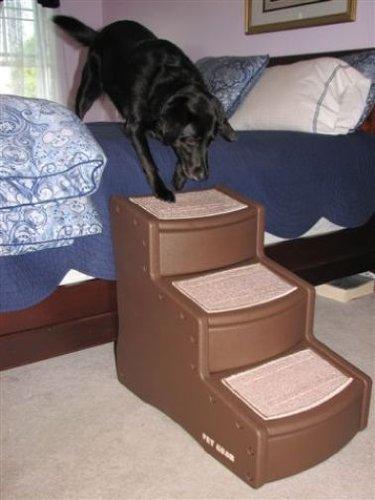 Pet Gear Hundetreppe mit 3 Stufen, hellbraun - 4