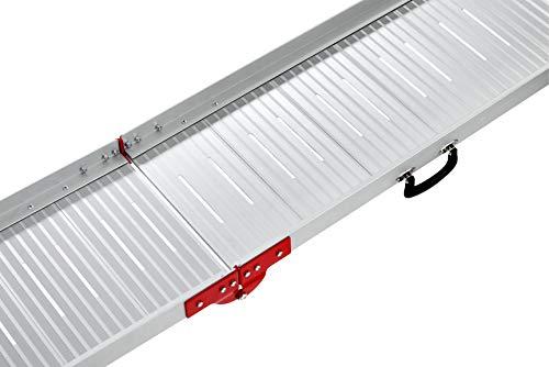 KARLIE Autorampe HUNDERAMPE Aluminium 183 x 36cm für Hunde - 3