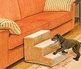 Hundetreppe Hunderampe Hunde Rampe Treppe Stufen beige 41 x 29,5 x 43 cm (BxHxT) Bis 60 KG - 2