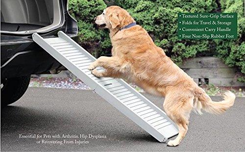 UPP® Hunderampe klappbar / Hundetreppe / Klapprampe / Einstiegshilfe