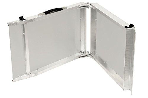 Faltbare Aluminium Hunderampe, Autorampe in verschiedenen Längen (183 x 38 x 5 cm) - 4
