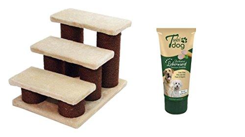 hundetreppe mit 75g leberwurst tiertreppe f r hunde autotreppe hunderampe haustiertreppe. Black Bedroom Furniture Sets. Home Design Ideas