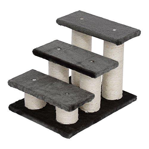 PawHut® Tiertreppe Katzentreppe Hundetreppe Treppe für Katze und Hunde 3 Stufen Neu