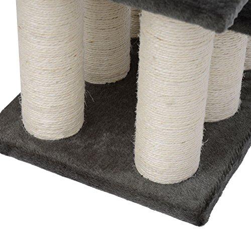 PawHut® Tiertreppe Katzentreppe Hundetreppe Treppe für Katze und Hunde 3 Stufen Neu - 5