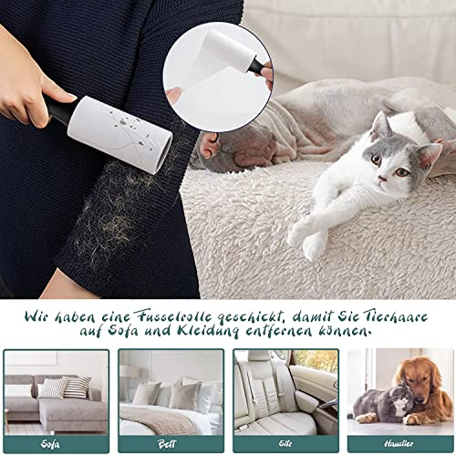 MASTERTOP Haustiertreppe für Hunde und Katzen mit, 3 Stufen Hundetreppe für Hunde und Katzen für hohe Betten, Leiter Haustierleiter, tragbar, abnehmbar, waschbar mit 1 Spielzeugknoten - 7