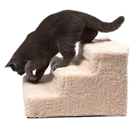 Teamyy Hundetreppe Tiertreppe Hunde Katzen Haustiertreppe hochwertigem Treppe - 3