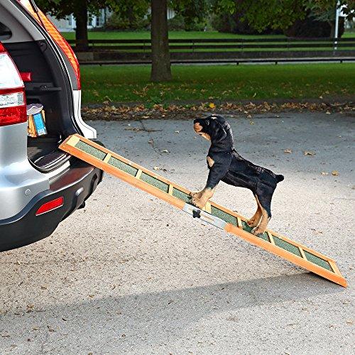 Hunderampe Hunde Rampe Auto Teleskop Einstiegshilfe Hund Autorampe Hundetreppe -