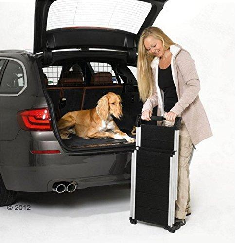 Faltbar Alu Teleskop Hunderampe (geeignet für Hunde bis 85kg)–Eine perfekte, um Ihr Hund in und aus der Auto - 8