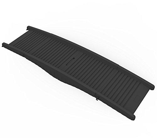 Dehner Hunderampe Gangway, ca. 152 x 43 x 40 cm, schwarz