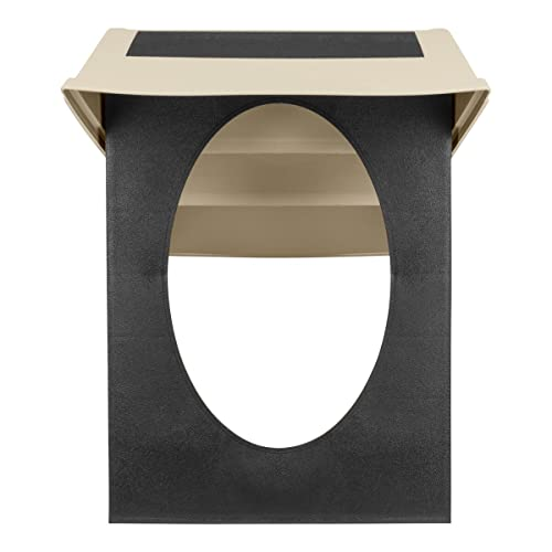 Tri-Kottmann 3-Stufige Hunde Katzen Welpen Haustiere Treppe, klappbar, weiss 37cm hoch, mit Anti-Rutsch Gummierung, geeignet für Auto, Sofa, Bett, Stuhl – sowie innen und außen - 4