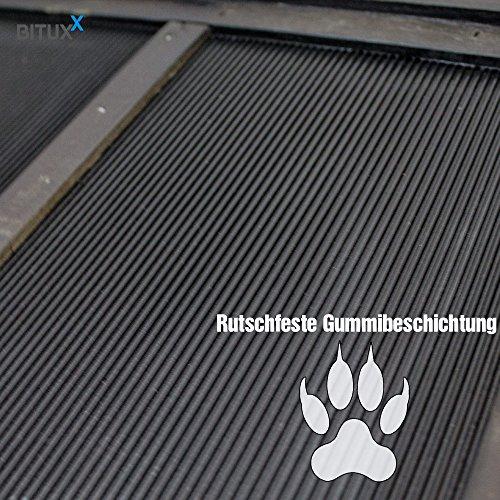 BITUXX® Hunderampe Einstiegshilfe Autorampe Hundetreppe Hundetransport Teleskop Ausziehbar aus Holz - 7
