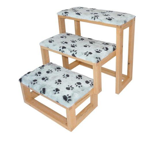 petsfit holzstufen f r tiere 2 sisalstufen hund 2 stufen. Black Bedroom Furniture Sets. Home Design Ideas