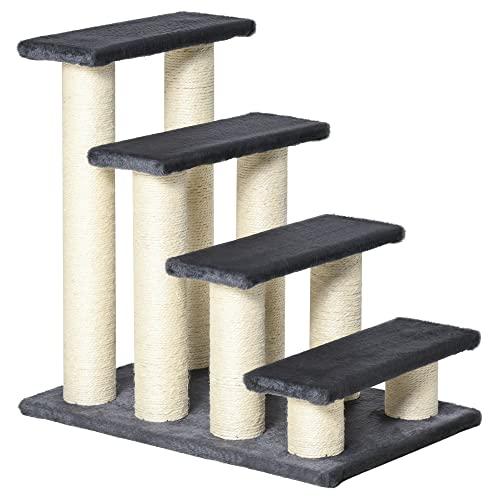 PawHut Tiertreppe Katzentreppe Hundetreppe Treppe für Katze und Hunde (Modell 1)