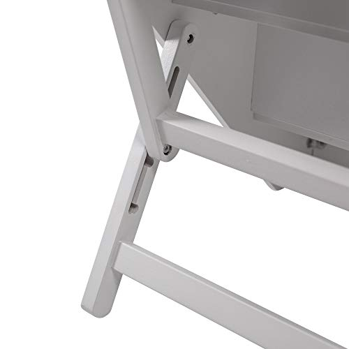 UPP Hundetreppe Premium   Massiv aus FSC Holz und höhenverstellbar  3-stufige Treppe für Hunde bis 70 kg   Klappbare Hunderampe für Auto und Innenbereich [Weiß] - 4